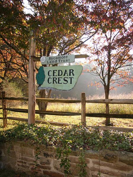 Cedar Crest, SLT's home