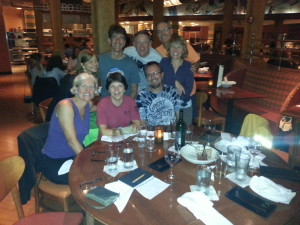 Team Sycamore at the Bistro in Grand Rapids