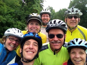 Team Sycamore trained and fundraised together to represent Sycamore Land Trust at the first ever Climate Ride Midwest!