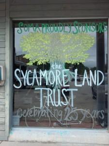 Great window art by Soma to celebrate our 25th anniversary!