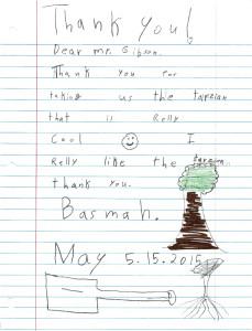 Templeton_Third Grader TY Note_2015-5-15 (1)