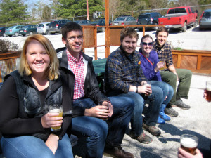 The inaugural outing for young nature lovers concluded with a lovely afternoon socializing at Upland West Side Beer Bar.