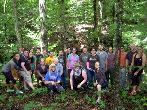A new generation of conservation leaders enjoyed a Sycamore Branches-sponsored hike at Dilcher-Turner Canyon Forest.