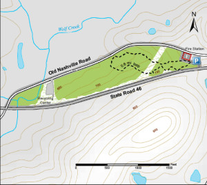 Tangeman Woods trail map