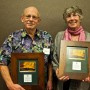 Ned Caldwell and Elaine Emmi_Lifetime Conservation Award 2015_by Hugh Hazelrigg