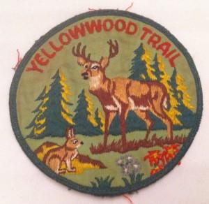 Yellowwood Trail historic patch