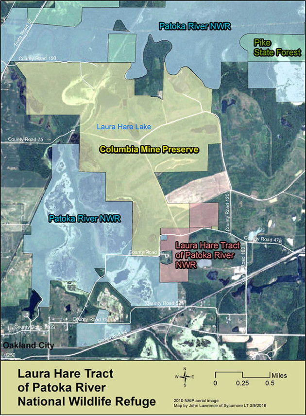 Laura Hare Tract of Patoka River NWR Map_web