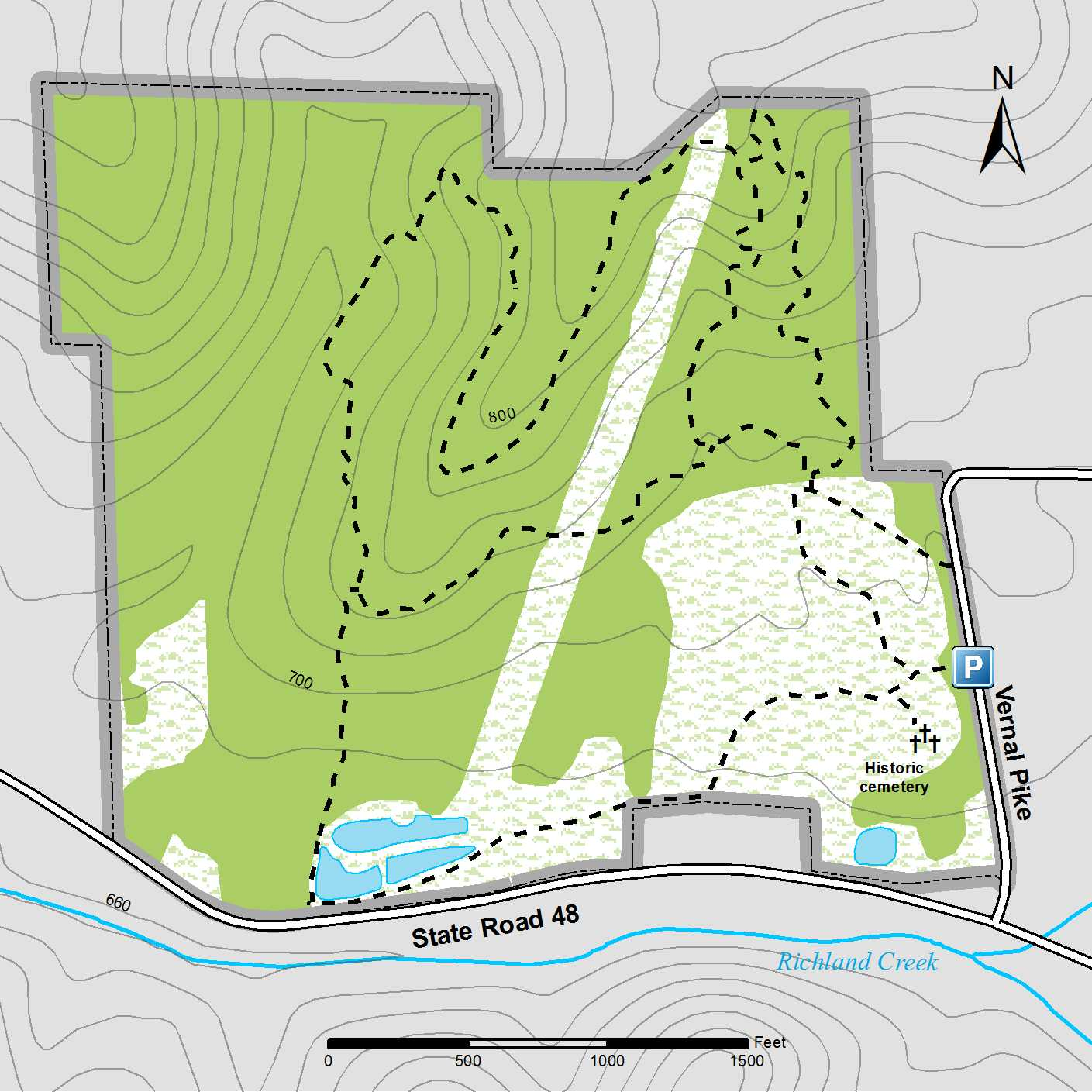 Porter Indiana Map.Porter West Preserve Sycamore Land Trust