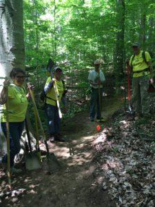 Yellowwood Trail Reroute
